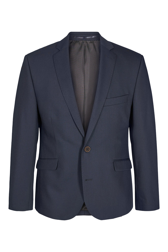 Traveller krølfri Herreblazer - Modern fit Blue