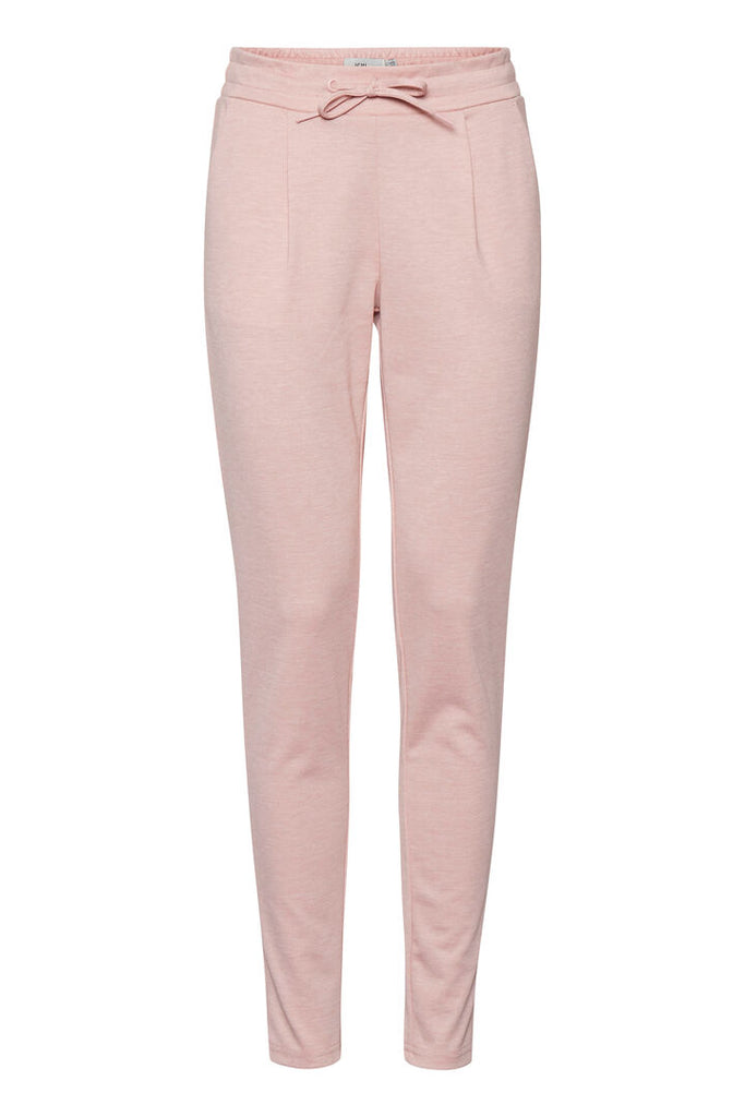 ICHI Jersey Pants - Rose Smoke