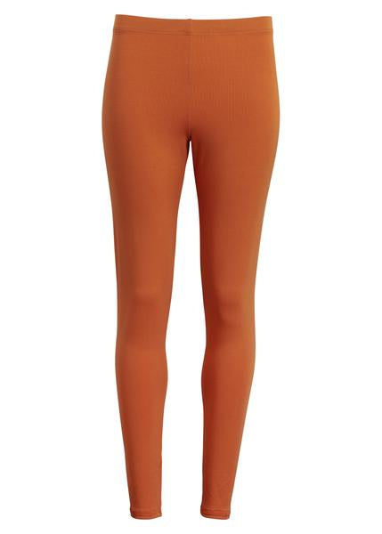 Lange leggings - ORANGE