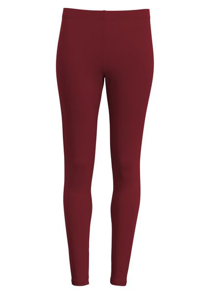 Lange leggings - BORDEAUX