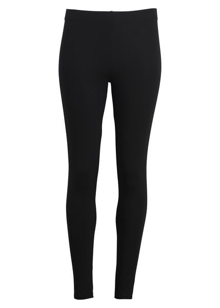 Lange leggings - SORT