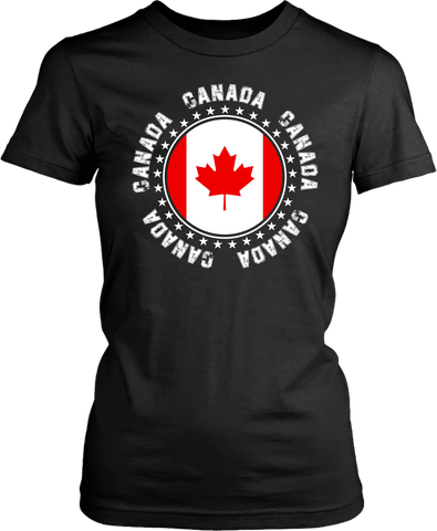 Canada Spirit T-shirt - Flag , Rep your country Tee