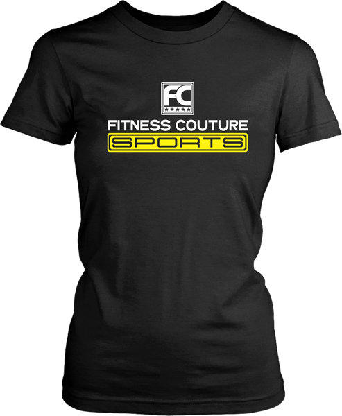 Fitness Couture Sports Gym Workout Tee