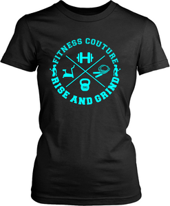 Fitness Couture Apparel - Raise  And Grind General Workout Gym Tee