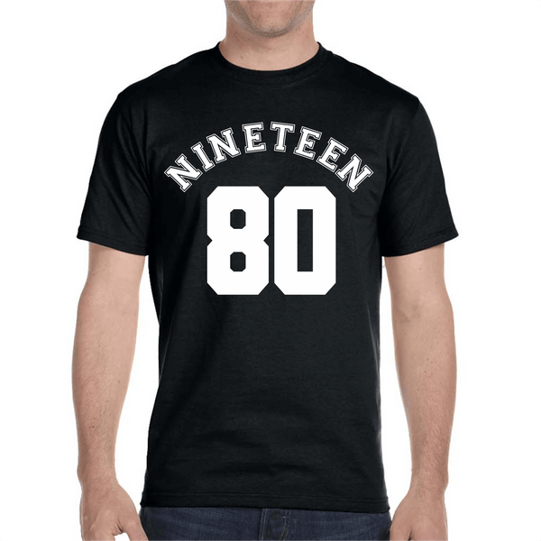 Nineteen 80 - Simple Tee Design...