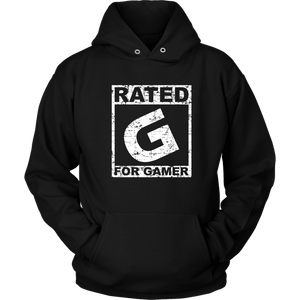 Rated G for Gamer - Unisex Hoodie