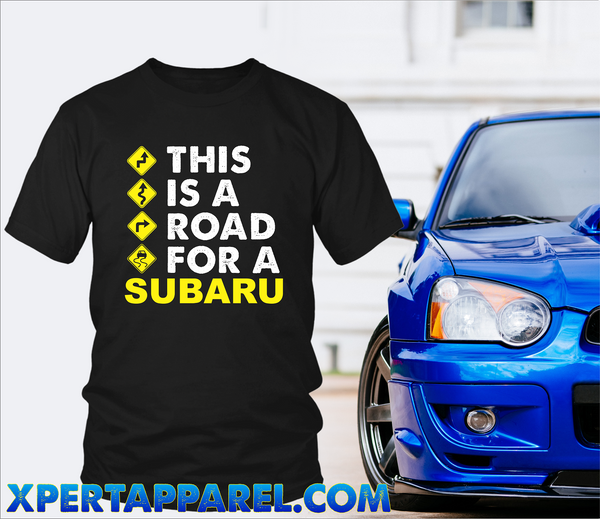 This Is A Road For A Subaru - **Exciting New Release**