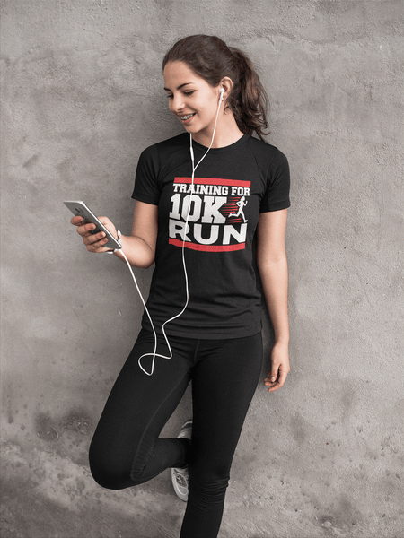 Fitness Couture - Training For 10K Run T-shirt