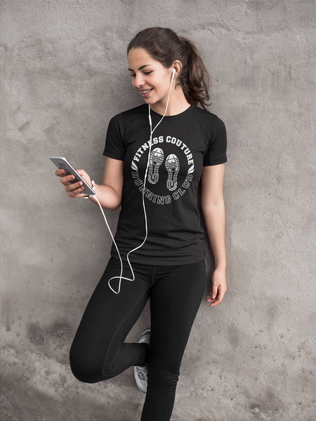 Fitness Couture ** Running Club T-Shirt
