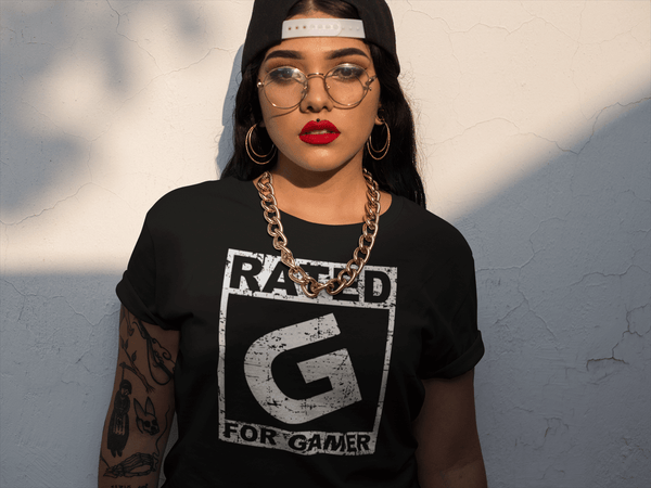 Rated G For Gamer T-shirt