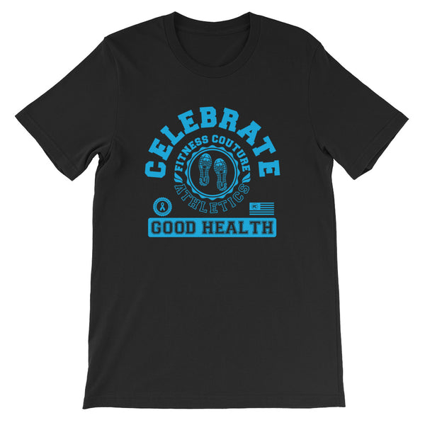 Fitness Couture Athletics - Celebrate Good Health Tshirt - xpertapparel