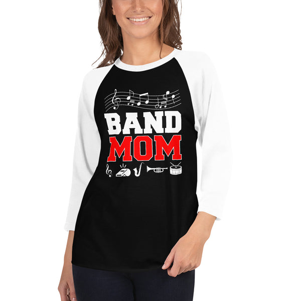 "Xpert-Apparel-Store *EXCLUSIVE NEW RELEASE*  ""BAND MOM"" T-shirt - xpertapparel"
