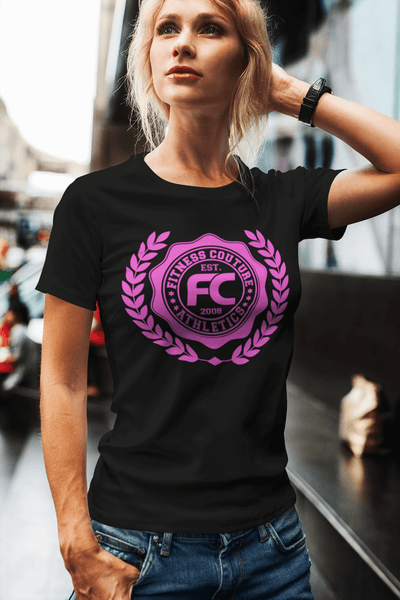 Fitness Couture Logo Crest T-shirt