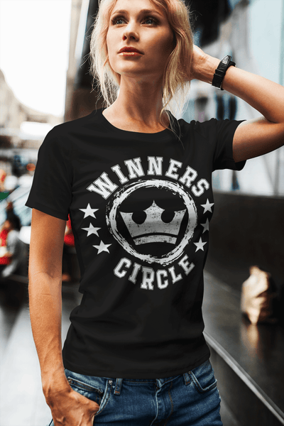 Winners Circle Casual T-shirt Design