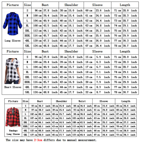 Plus Size 4XL 5XL Fashion Summer Womens Tops And Blouses Hot Blouse Shirt Women Top Shirts Tops Tee Blusas Feminina Casual Plaid - xpertapparel
