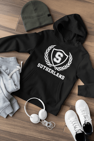 Sutherland Crest Hoodie, T-shirts and Long sleeve