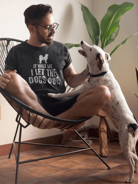 IT WAS ME, I LET THE DOGS OUT -  Funny Tee