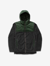 Mens Sherpa Hybrid Zip Up