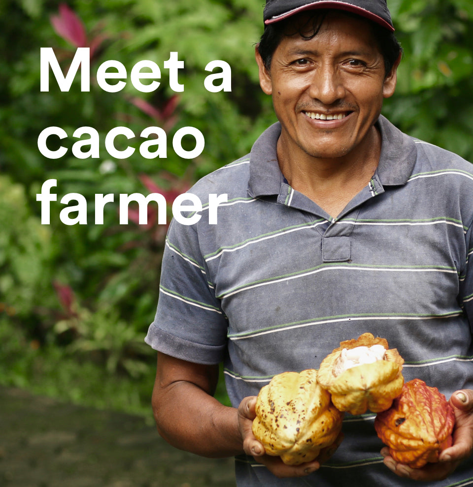 Meet cacao farmer