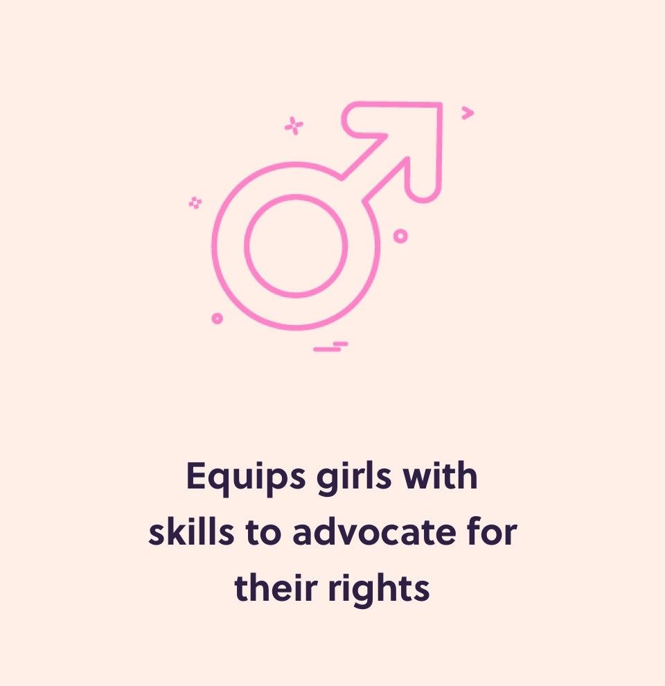 Equip girls with skills to advocate for their rights
