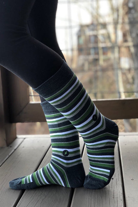 Conscious Step - Socks That Provide Relief Kits - Striped