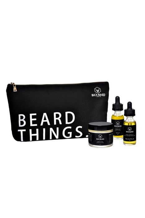 Buck Naked Soap Company - Beard Things Collection