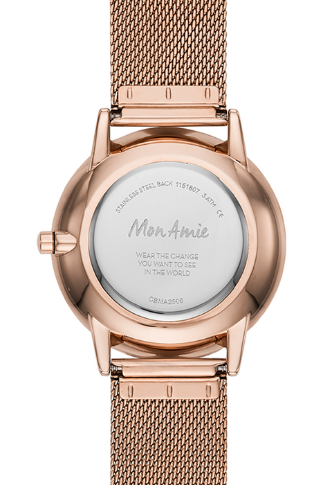 Mon Amie Watch and Bracelet Set - Rose gold-tone (Opportunity)