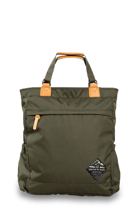 United by Blue - Summit Convertible Tote Pack - Olive