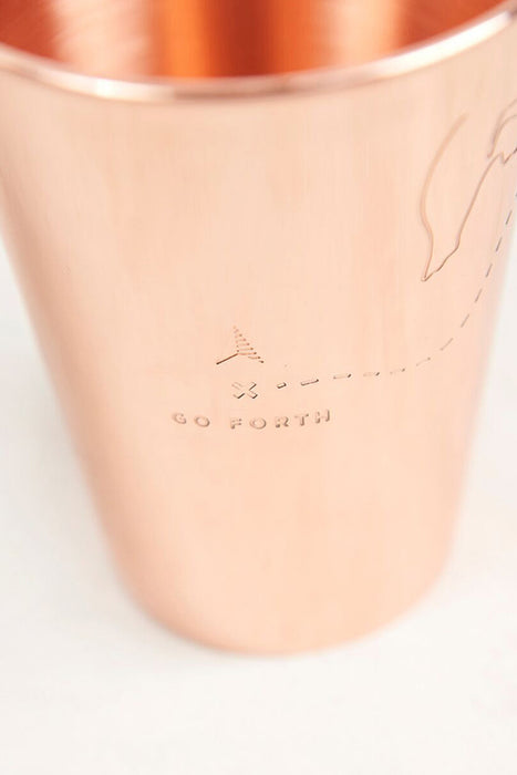 United by Blue - Go Forth Copper Tumbler - Copper