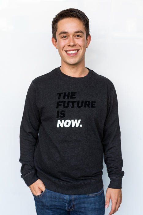 The Future Is Now Crewneck