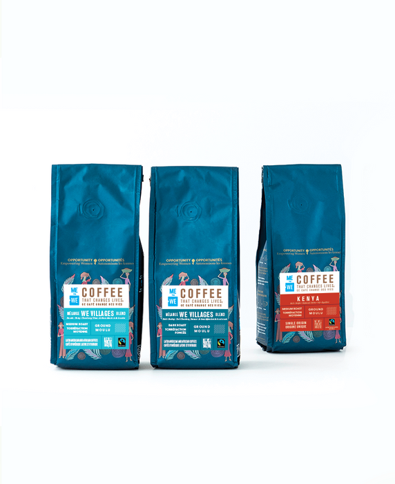 3 Pack – Coffee Bundle – ME to WE Coffee That Changes Lives™