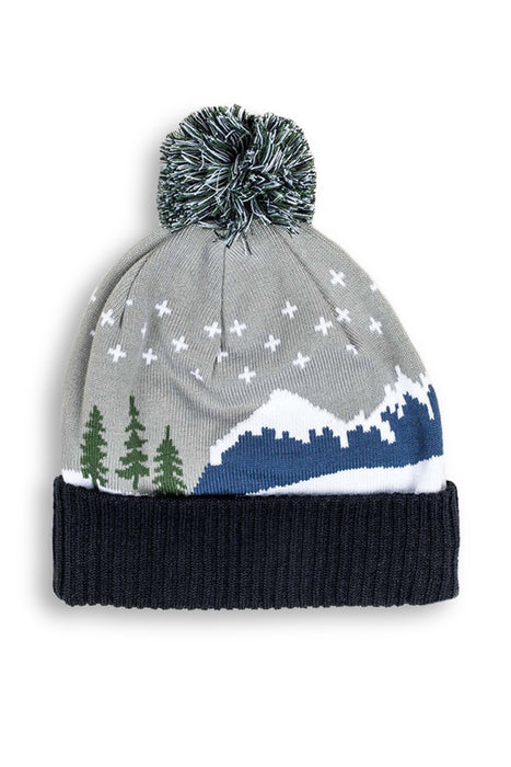 United by Blue - Cabin Pom Beanie - Navy