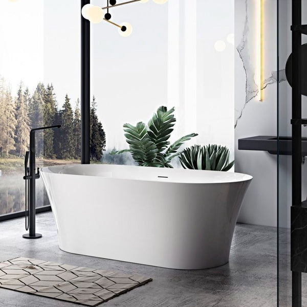 Swept Freestanding Bath