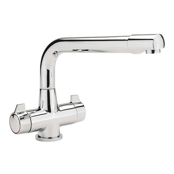 Quarter Turn Mono Bloc Sink Mixer