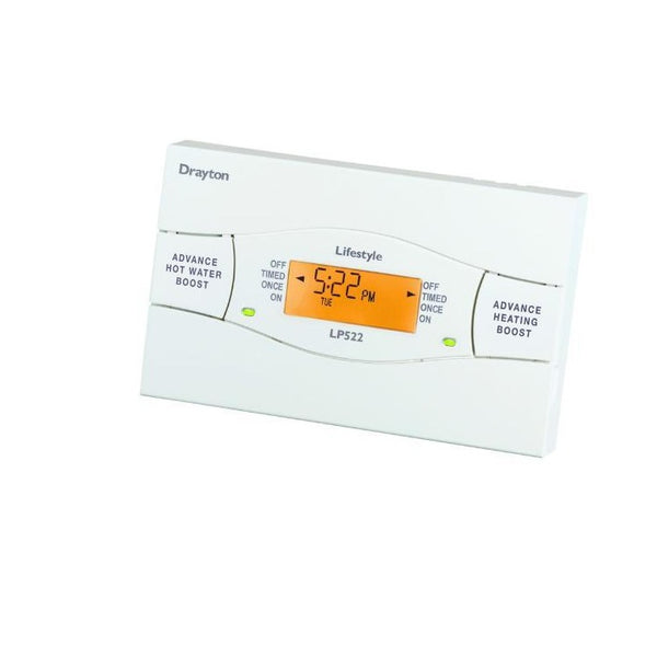Drayton LP522 5/2 Day Heating and Hot Water Programmer