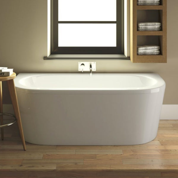 Shingle Back to Wall Bath