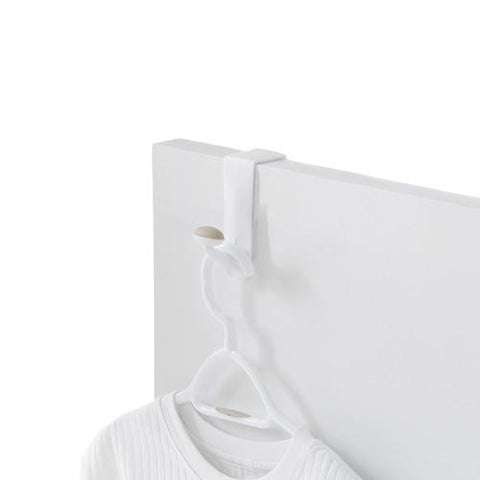 Single Over-the-Door Non-Slip Plastic Hook - Style 0050