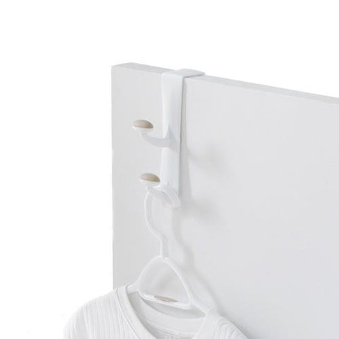 Double Over-the-Door Non-Slip Plastic Hook - Style 0051