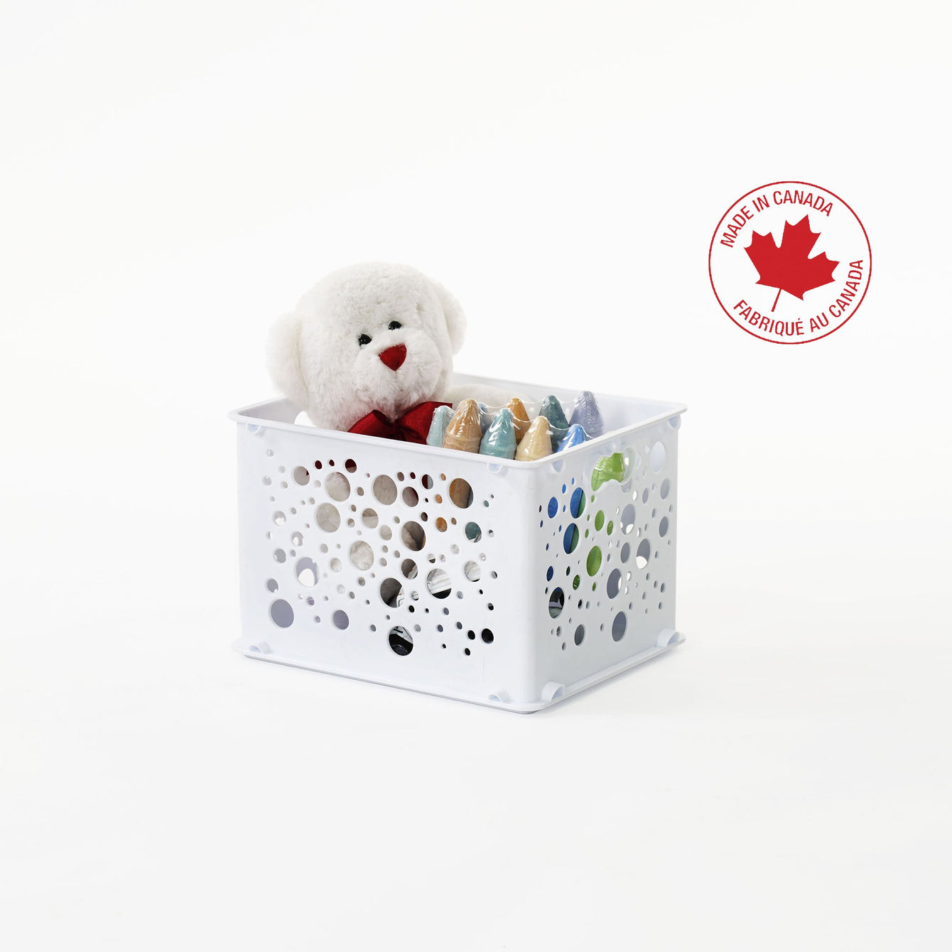 Small Stackable Plastic Storage Box - Style 0202