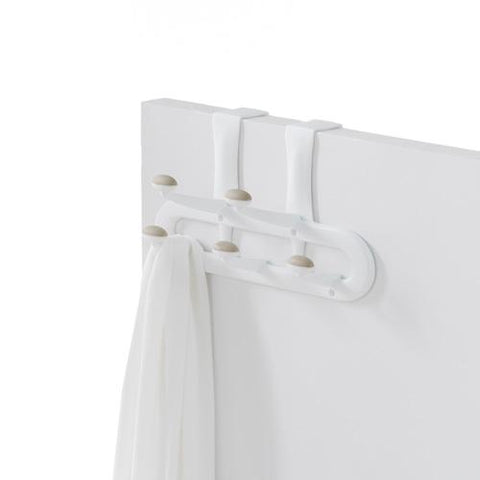 5-Peg Over-the-Door Non-Slip Plastic Hook - Style 0556