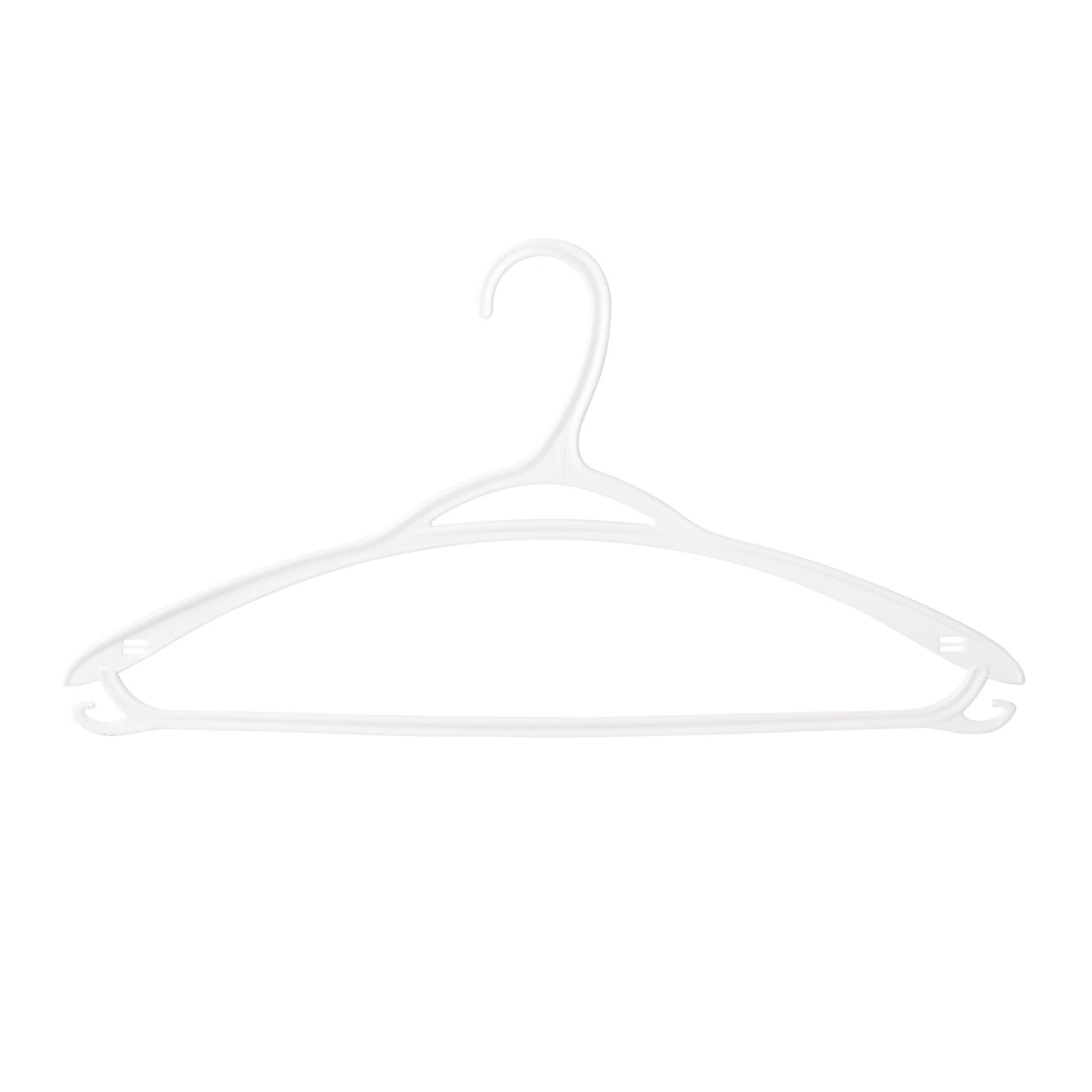 10 Pack Plastic Swan Clothes Hanger - Style 2205