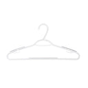 "10 Pack Non-Slip Slim ""W"" Clothes Hanger - Cool Grey - Style 2225"
