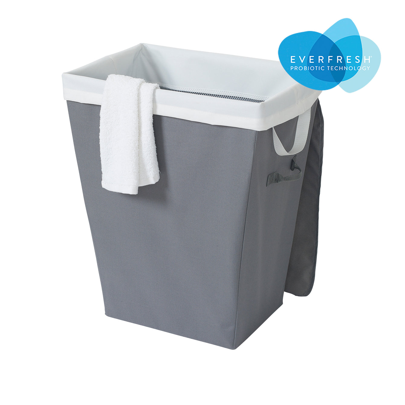 Nesting Fabric Laundry Hamper with Lid, Lift-Out Mesh Liner and EVERFRESH® Odor Control - Style 3204
