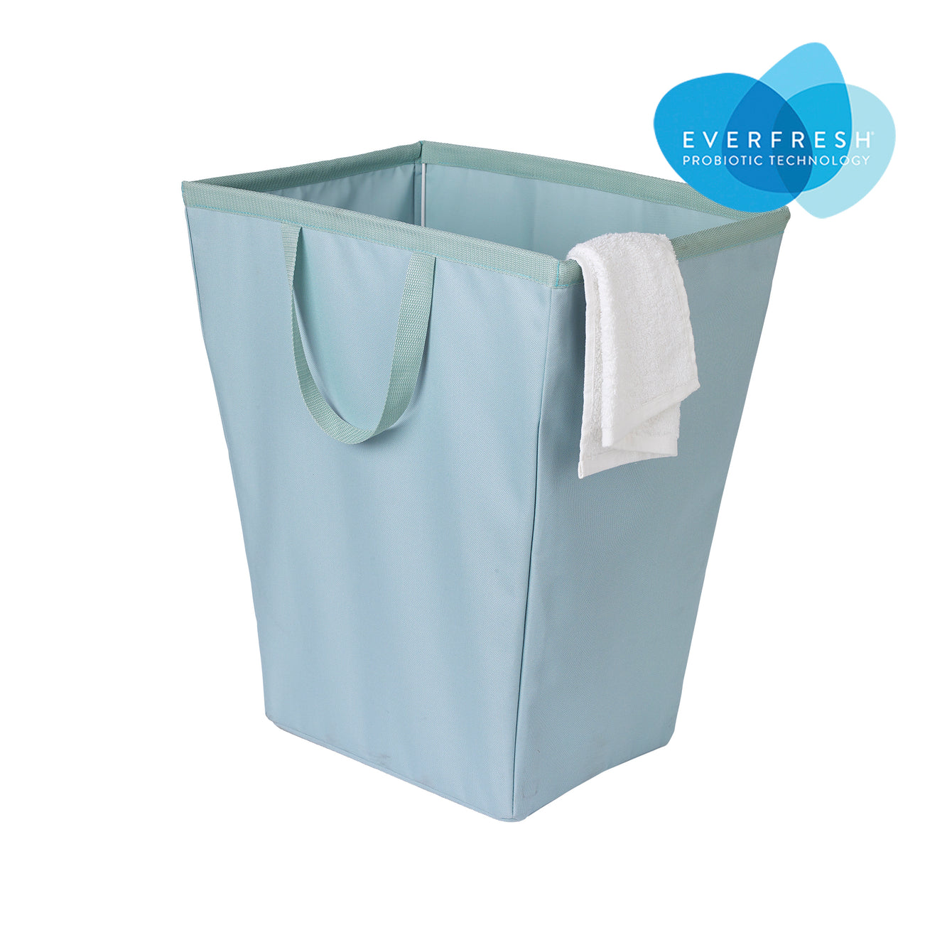 Easy Carry Flex Fabric Laundry Hamper-tote with EVERFRESH® Odor Control - Style 3214