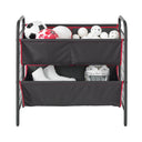 Garage and Sport Multipurpose 2-Tier Large Fabric Bin Utility Storage Organizer – Style 3404