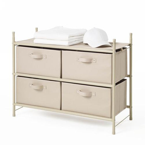 Modulize Organiseur de rangement 4-Drawer empilable - Style 5028