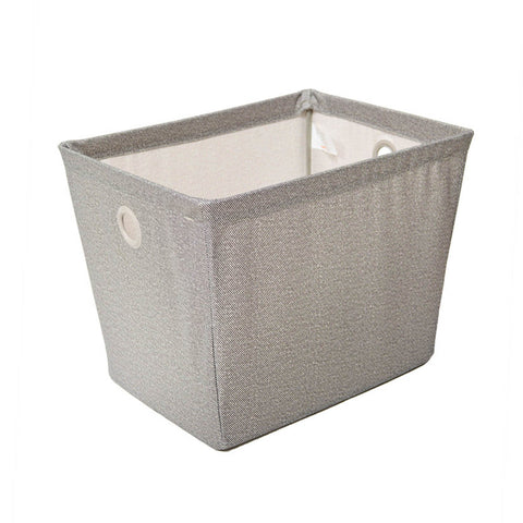 Small Wire Frame Fabric Storage Bin - Harmony Twill Collection - Style 5406