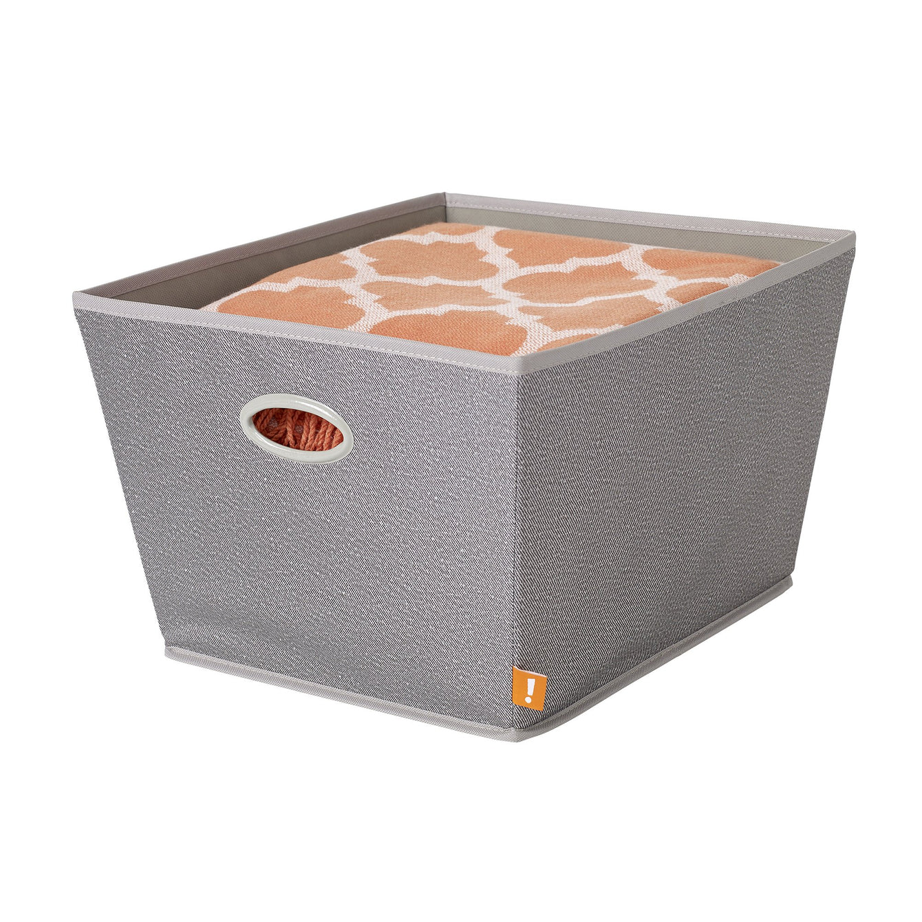 Large Paperboard Fabric Storage Bin - Style 5422