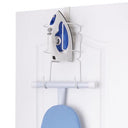 Wall Mounted or Over-The-Door Ironing Board and Iron Storage Caddy - Style 7480