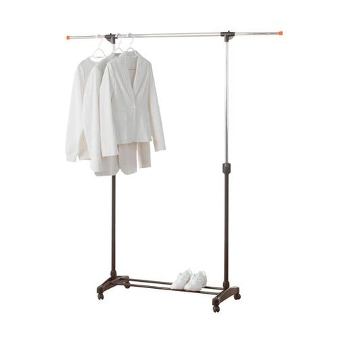 Expandable, Height Adjustable Rolling Garment Rack - Style 7813
